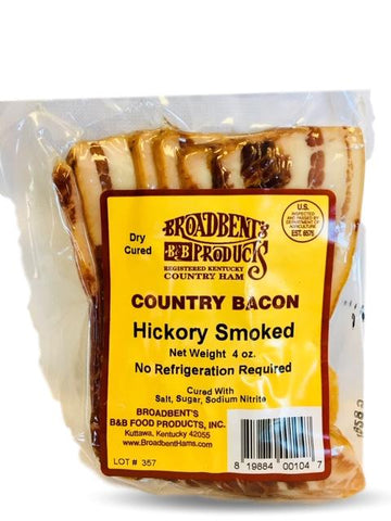 Broadbent Smoked Country Bacon 4 oz