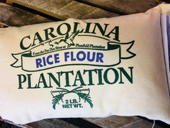Rice Flour 2lb cloth bag Carolina Rice Platation