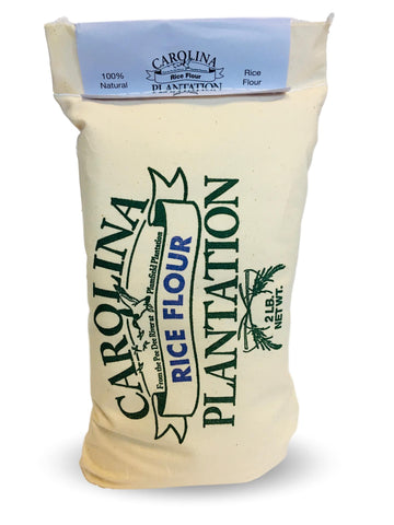 Carolina Plantation Rice Flour 2lb Cloth Bag