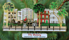 Charleston Battery Ornament