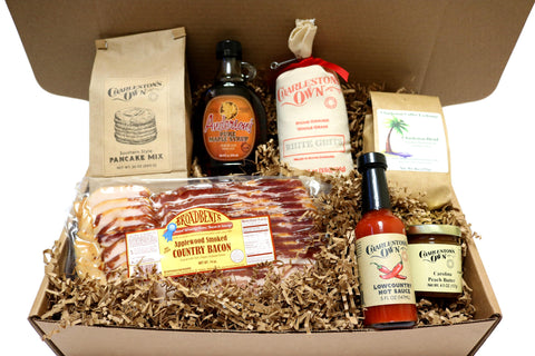 Charleston Breakfast Gift Box Basket