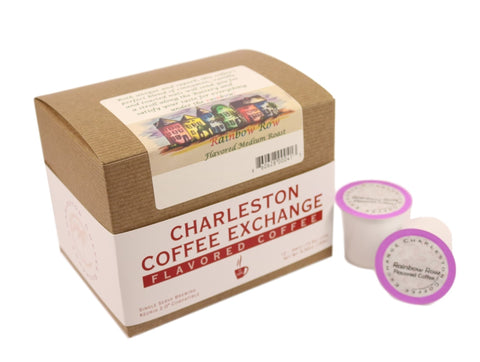 Charleston Coffee Exchange Rainbow Row K-cup