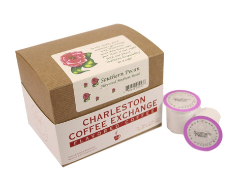 Charleston Coffee Exchange Southern Pecan K-cup