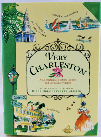 Very Charleston Illustrated Book