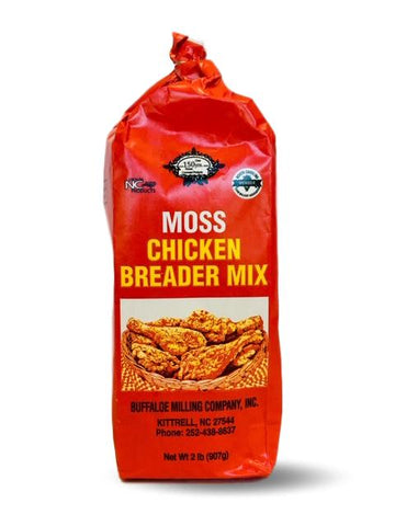 Moss Southern Fried Chicken Breader Coating Mix 2lb Bag