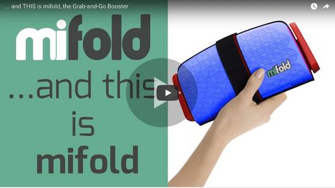 Mifold Booster Seat Mom Review