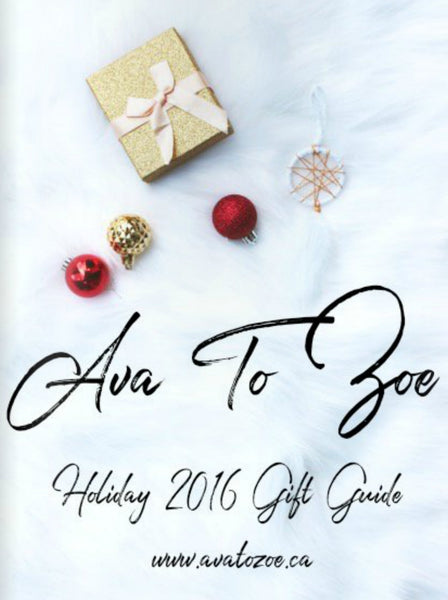 Ava to Zoe Holiday Gift Guide