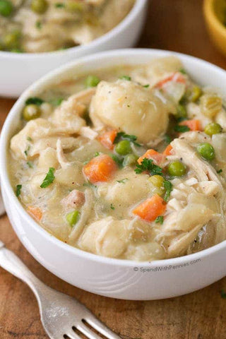 Beluga Baby loves crockpot chicken and dumplings..this is the BEST recipe