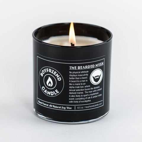 Beluga Baby Loves the Bearded Musk Boyfriend Candle