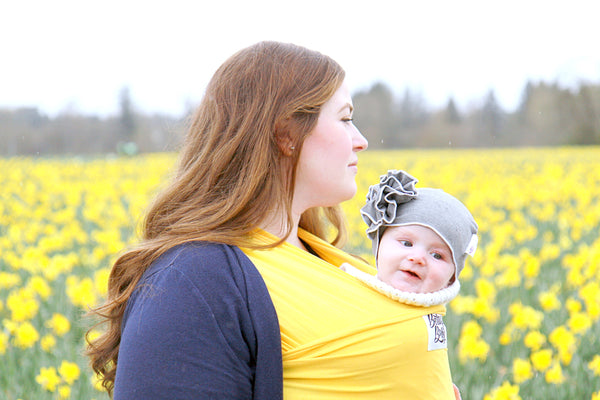 Discovering Parenthood Beluga Baby Wrap Bamboo Baby Carrier