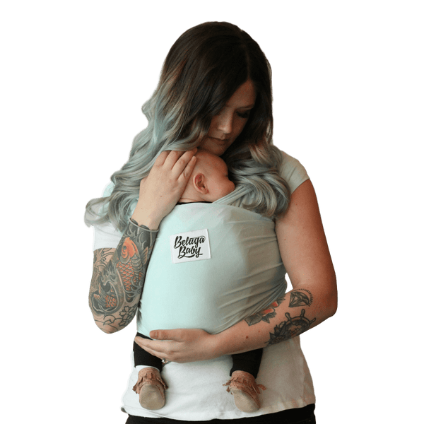 The Ana Light Seafoam Beluga Wrap (Limited Edition) - Beluga Baby Store