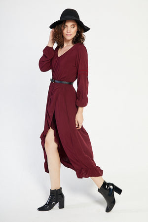 The Feldspar Frill Dress