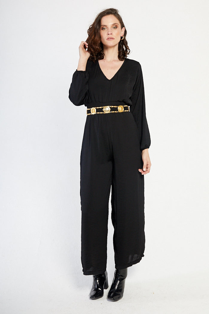 The Feldspar Frill Jumpsuit