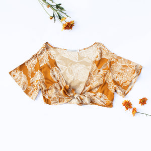 The Wulfenite Wrap Top
