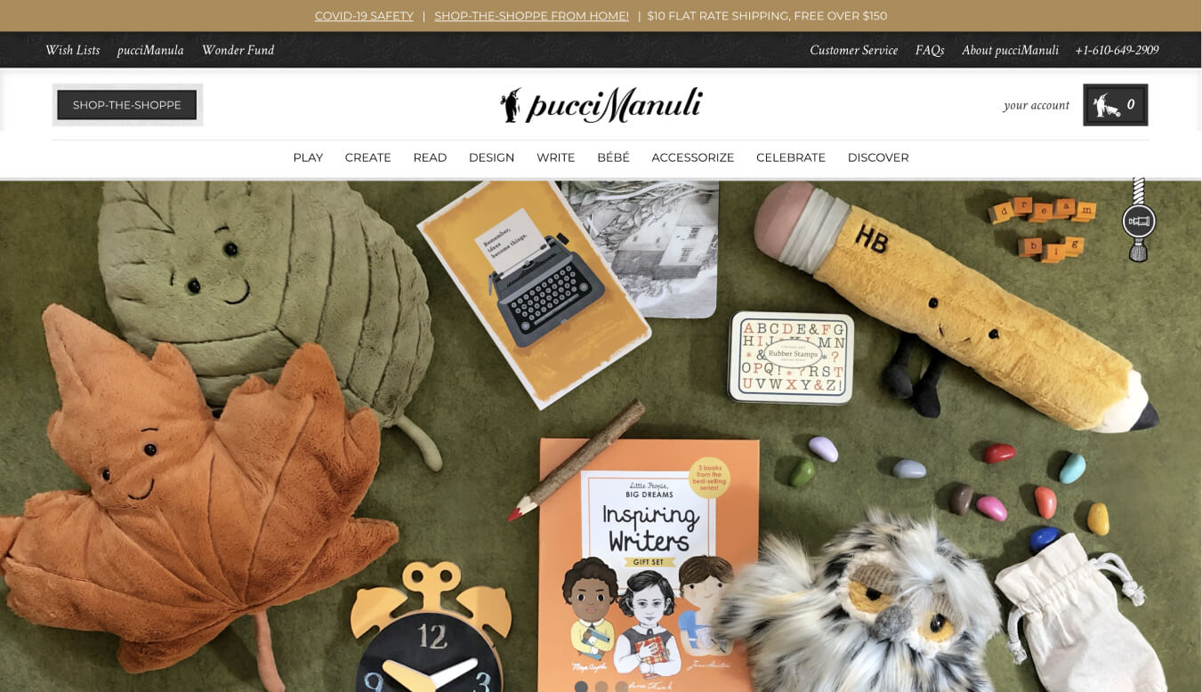 PucciManuli Custom Shopify Theme