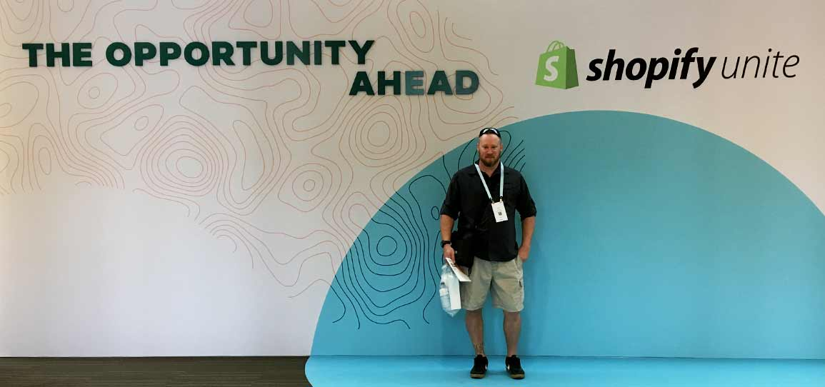 Shopify Unite 2019 Arrival and Registration