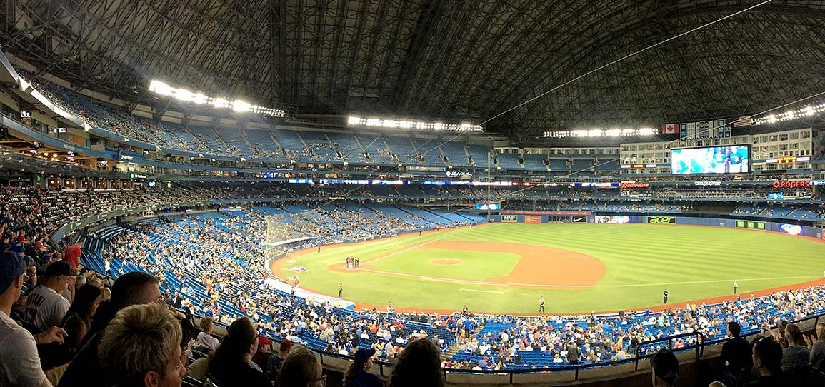 Shopify Unite 2019 - Baseball at Rogers Stadium