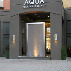 Aqua Water Wall - Marina Del Rey, California