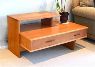 End Tables and Bench Storage