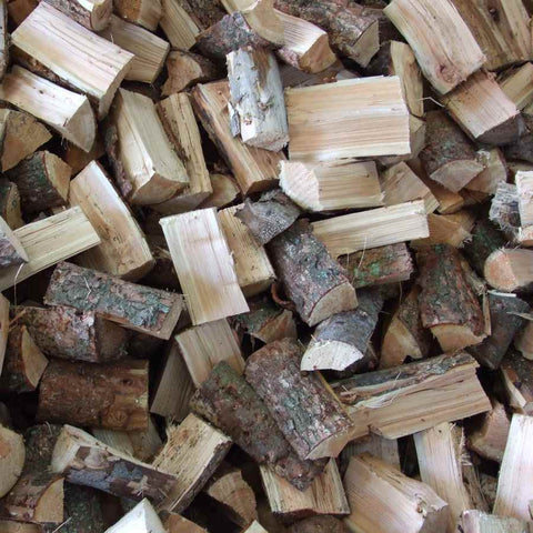 Kiln Dried Ash Logs - Crates, Bulk bags