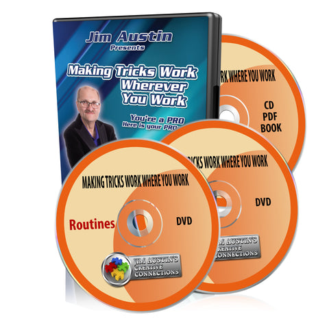 Making Tricks Work Wherever You Work DVD Package