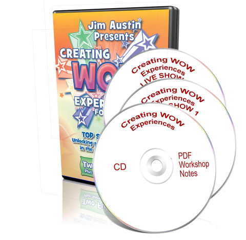 Copy of Creating WOW Experiences For Seniors DVD Set