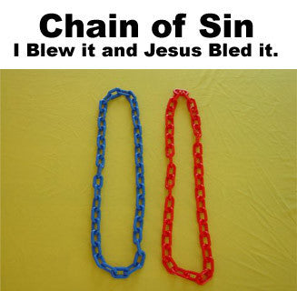 Chain of Sin: I Blew it and Jesus Bled it