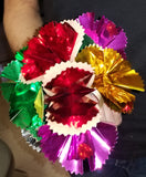 Custom Small Mylar Production Flower