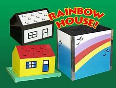 Rainbow House Bunny Production