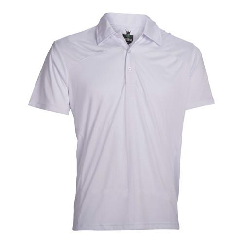 Drop Needle Polo-White