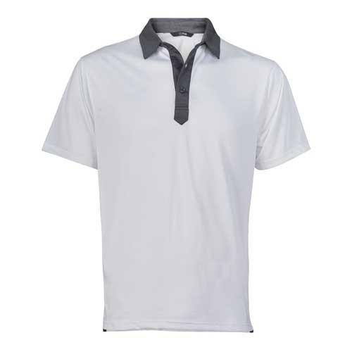 Palmer Polo-White/Steel