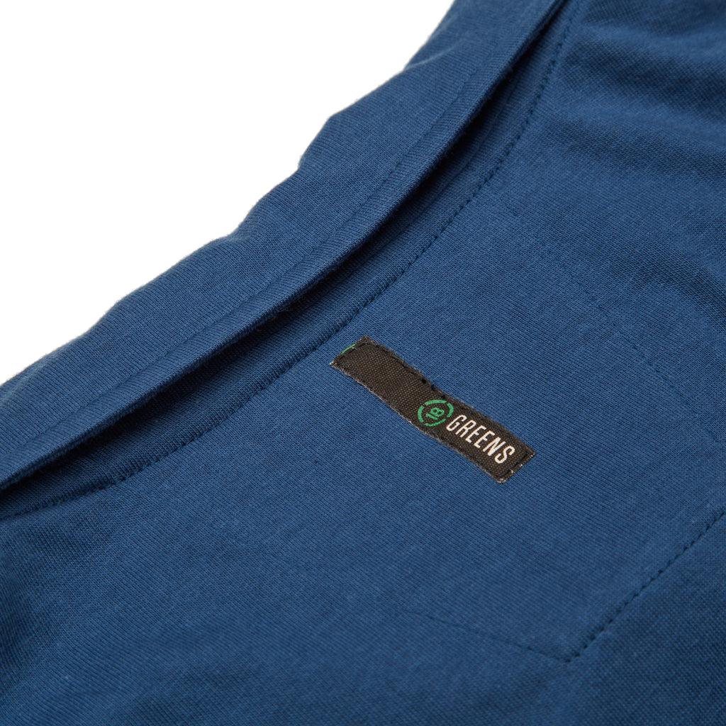 Corner Pocket Polo-Navy/Periwinkle