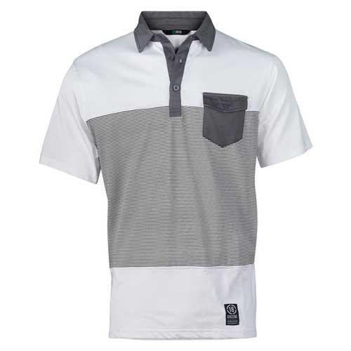 All Day Polo-White/Steel