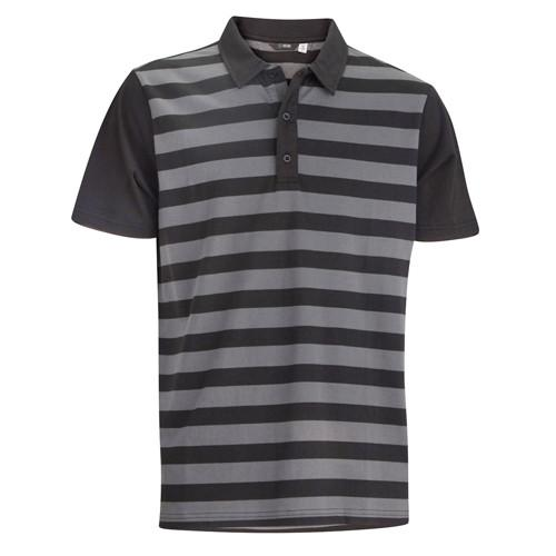 Folsom Polo-Steel/Black