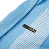 Stripeshow Polo-Periwinkle/White