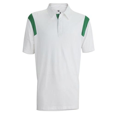 Captain's Pick Polo-White/Amazon