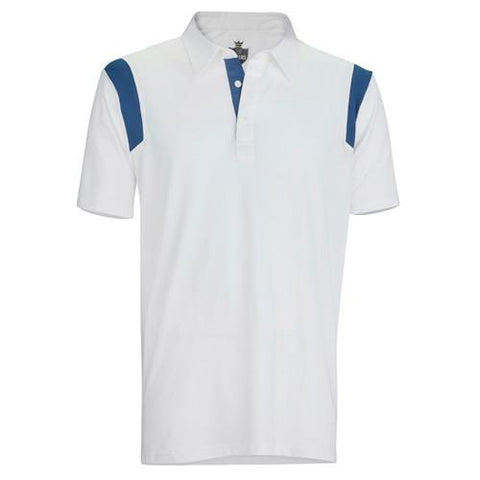 Captain's Pick Polo-White/Navy