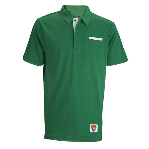 Junior Polo, Corner Pocket, Amazon/White