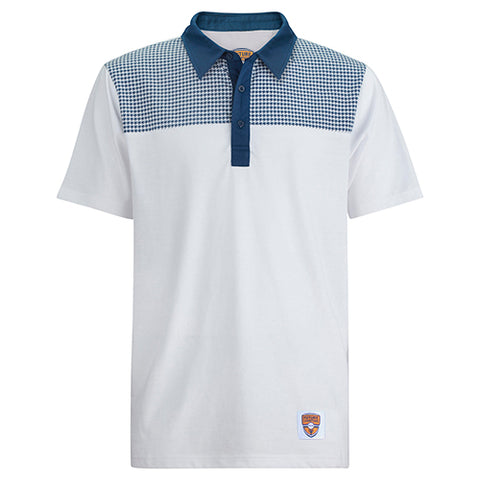 Junior Polo, Hound Dog, White/Navy