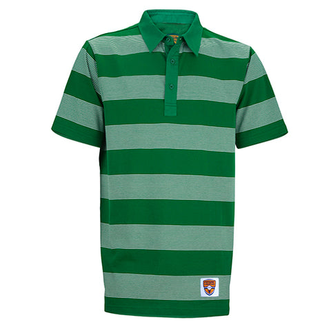 Junior Polo, Stripe Show, Amazon/Silver Stripes