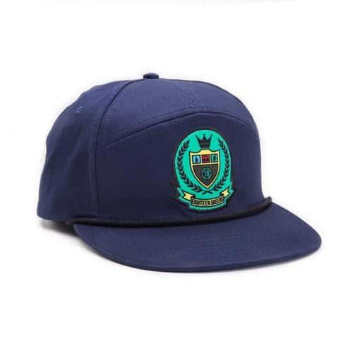 The Crest-Snapback-Blue