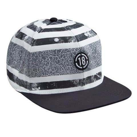 The Quarter Cask-Snapback-Steel Black