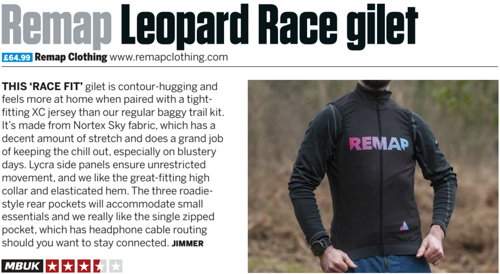 MBUK Remap Gilet Review