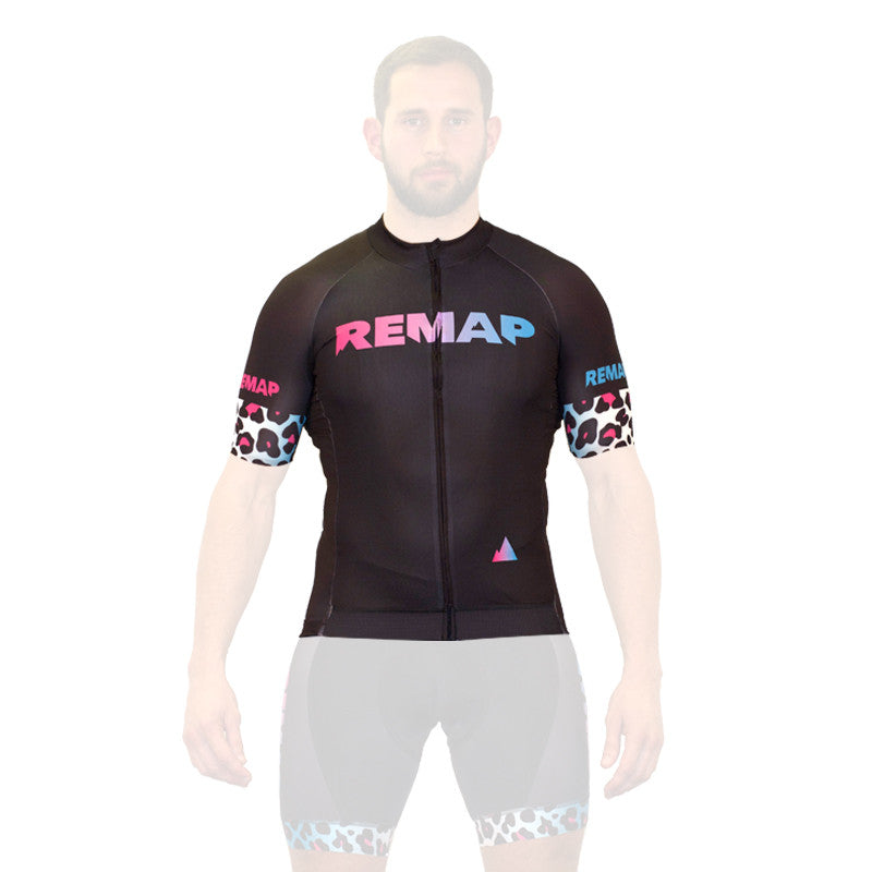 Leopard Race Short Sleeve Jersey