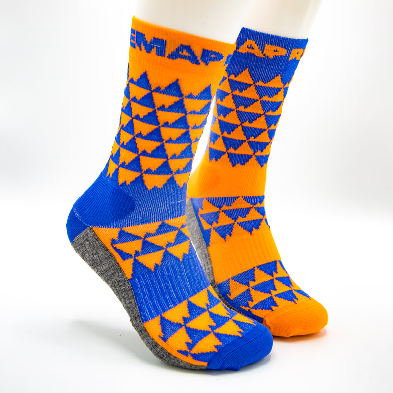 Mountains sock