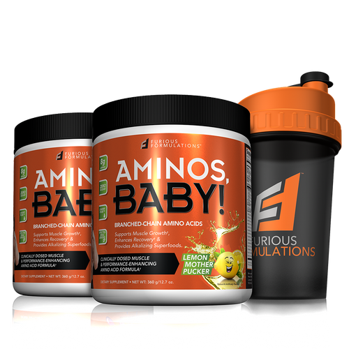 AMINOS, BABY! 2 PACK SHAKER STACK