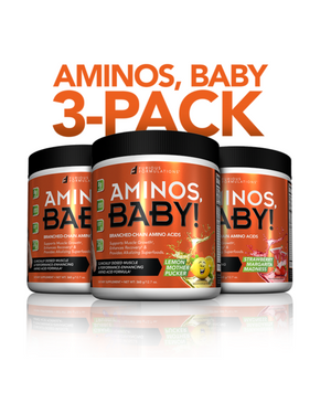 AMINOS, BABY! | BCAAs | 3-PACK - FURIOUS FORMULATIONS Inc