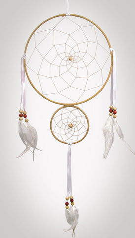"Item #owg001 – 8"" Double Ring Dream catcher"
