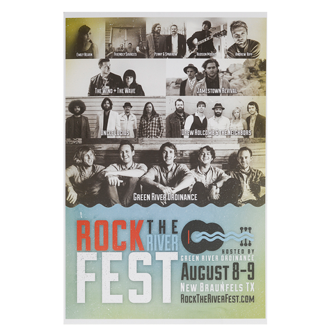 Rock The River Fest 2014 Poster