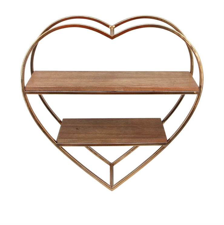 Heart Wall Shelf